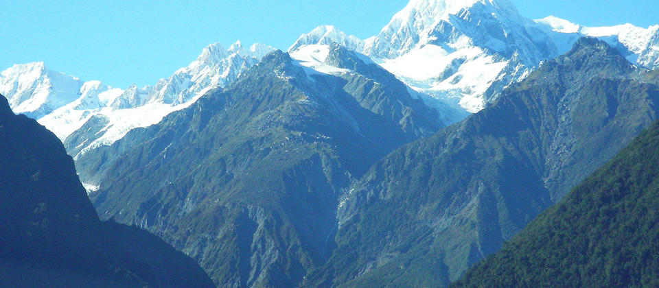 Mt Cook and Fox Glacier - West Coast