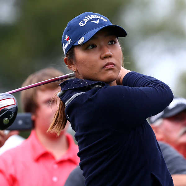 Young New Zealand golfer Lydia Ko.