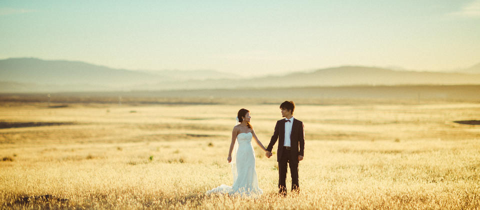 Lake Tekapo Pre Wedding Photos