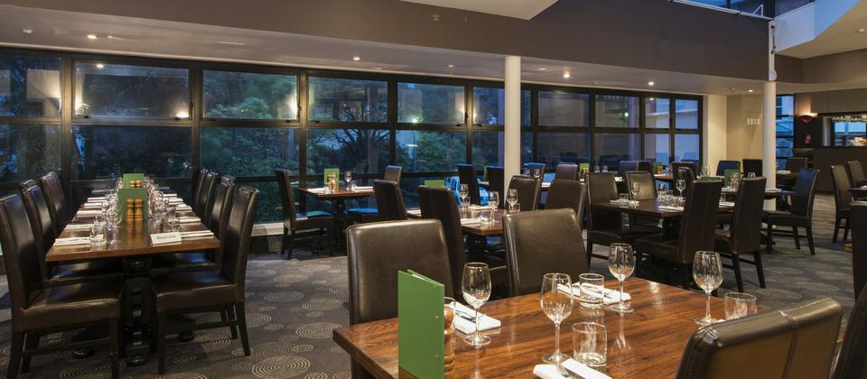 Glasshouse Restaurant at The Thorndon Hotel Wellington