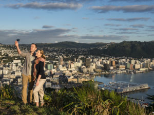 Climb Mt Victoria for spectacular views over Wellington.