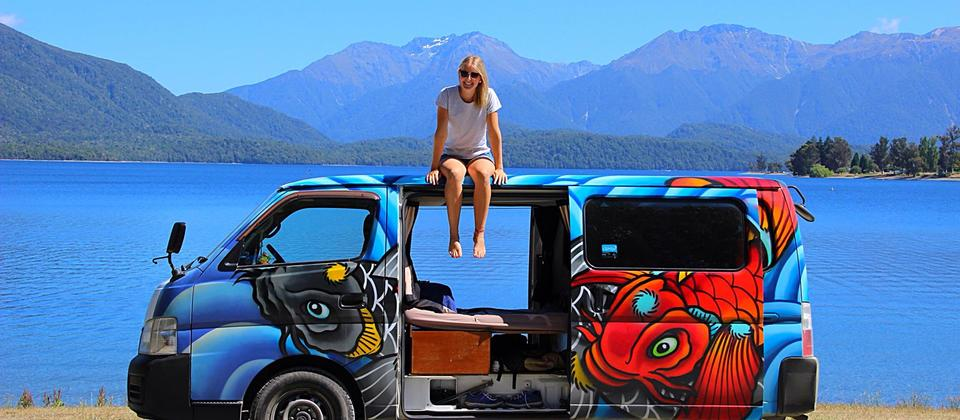 Freedom with Escape Campers in New Zealand.
