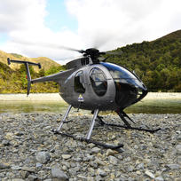 Helicopters give anglers access to remote fishing spots in the back-country.