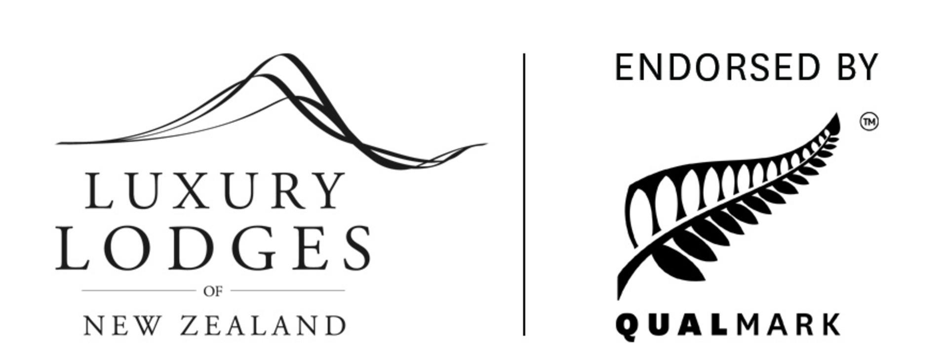 Logo: Luxury Lodges of New Zealand