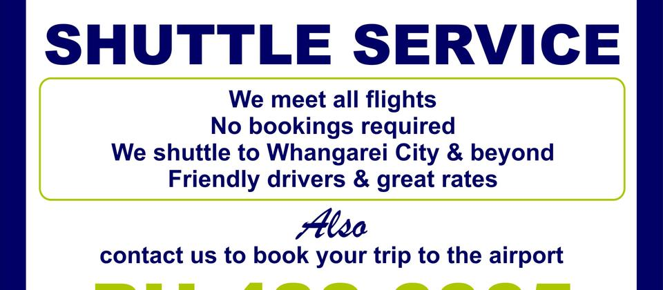 Whangarei Airport Shuttle Service