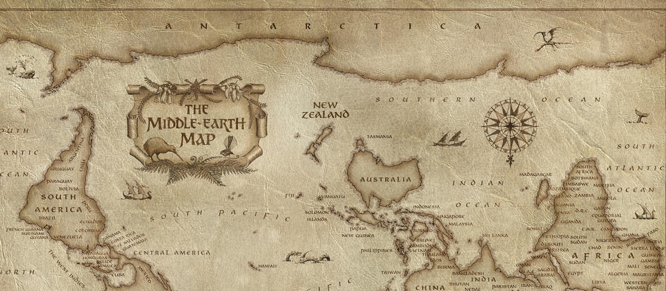 New Middle-Earth World Map