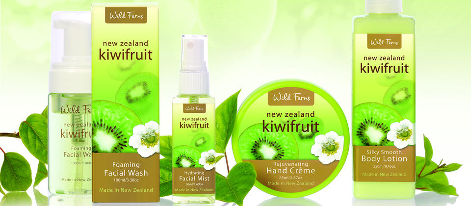 Antioxidant-rich kiwifruit extracts make this Wild Ferns' beauty range an eternal favourite.