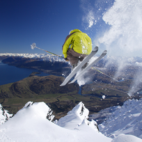 Skiing at the Remarkables, Queenstown