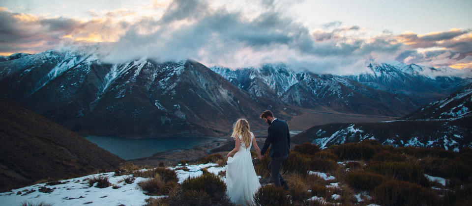 Wanaka Mountain Wedding Photography