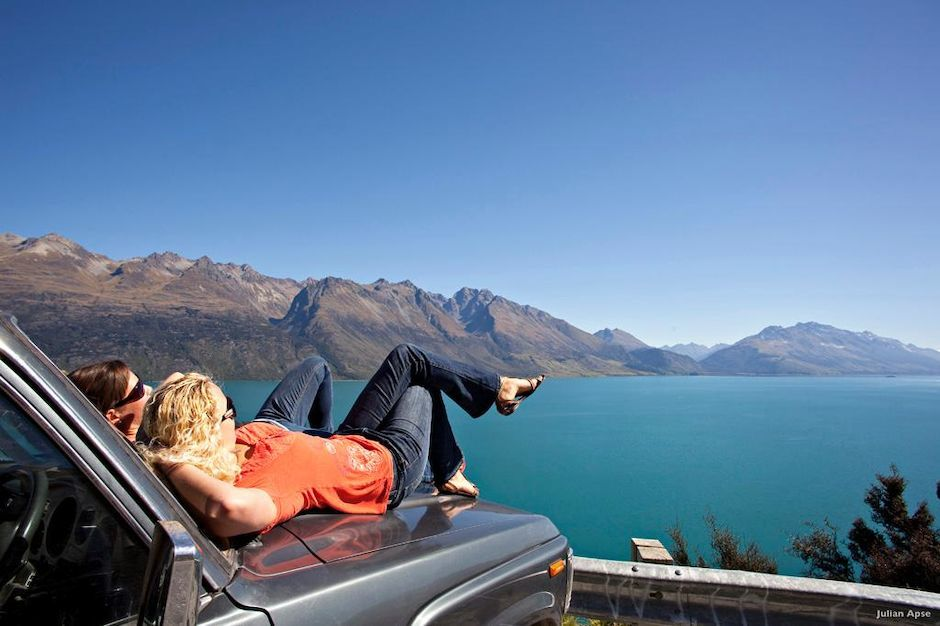 Rest Stop, Lake Wakatipu
