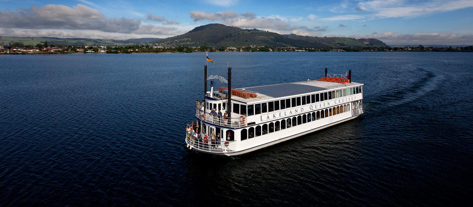 Scenic Lake cruise with stunning views