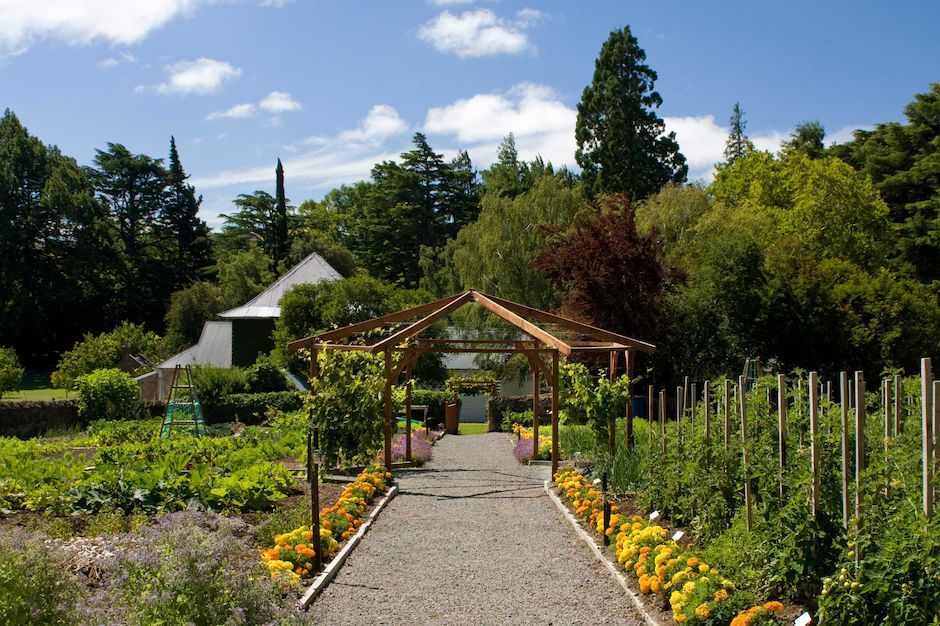 Potager Garden at Otahuna Lodge