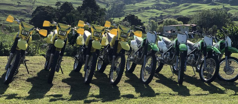 Hire a bike and enjoy the delights of dirt bike riding at Thundercross
