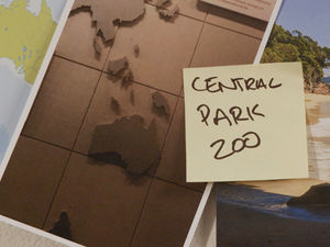Central Park Zoo map missing NZ