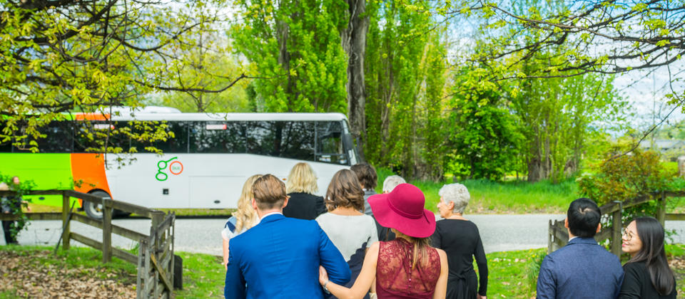 Exclusive charter for a wedding