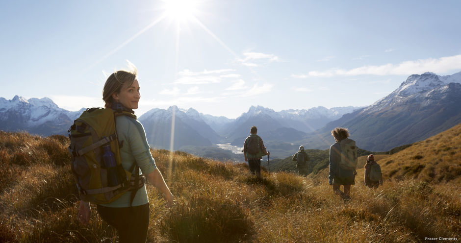 There are hiking trails to suit all levels of fitness in Glenorchy, near Queenstown.