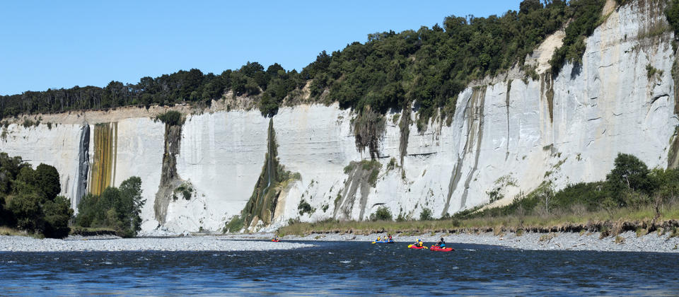 Scenic Rafting On The Rangitikei River