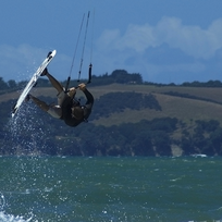 Wind surfing & kite surfing in New Zealand
