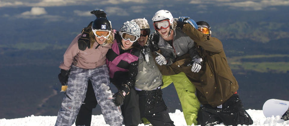 Ski Winter holidays on Mount Ruapehu