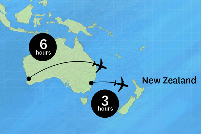 New Zealand Australia Map.Travel To Nz In New Zealand Things To See And Do In New Zealand