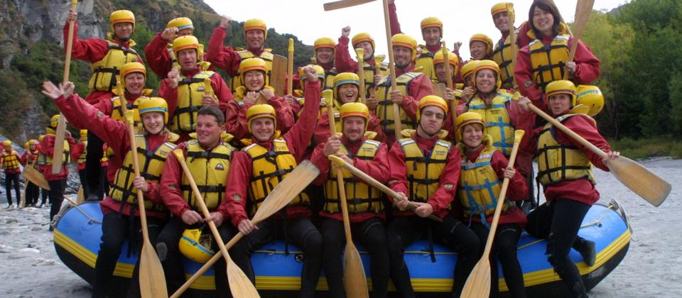 Queenstown Rafting - great for groups