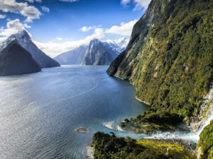 Milford Sound - another stunning Middle-earth location.