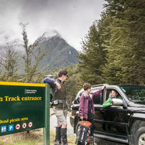 Routeburn Track car relocation with Easyhike