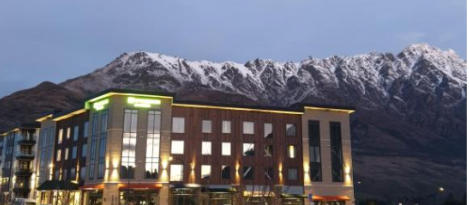 At the foot of the Remarkables