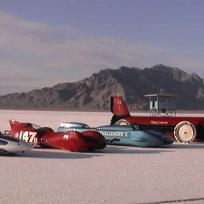World's Fastest Indian, Utah's salt flats.