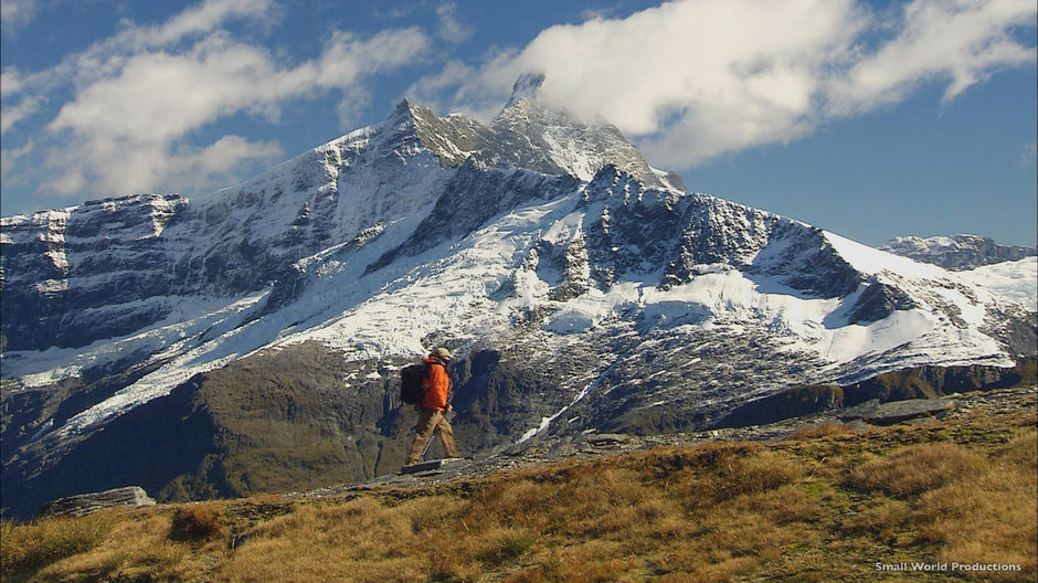 Explore Mount Aspiring by foot. Guided climbs to the summit run from September to April.