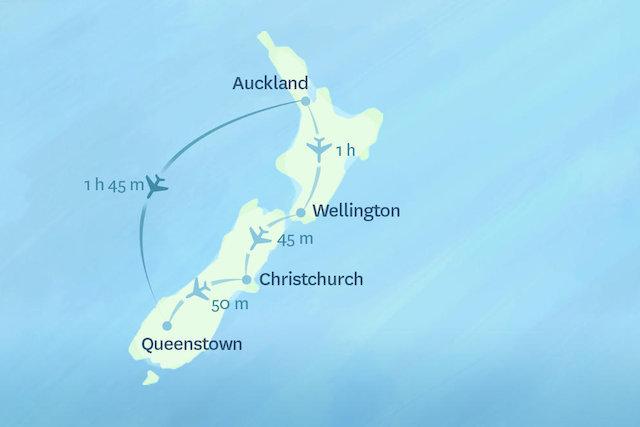nuevo estilo de vida bajo costo mejor Vuelos nacionales en Nueva Zelanda   Cosas que puedes ver y ...