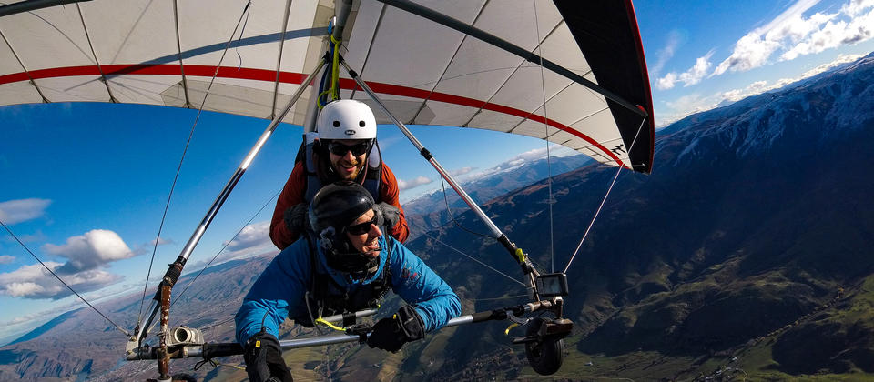 Highest and longest hang gliding flight in NZ