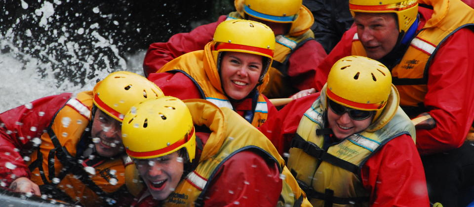 Exciting adventure activity with Queenstown Rafting