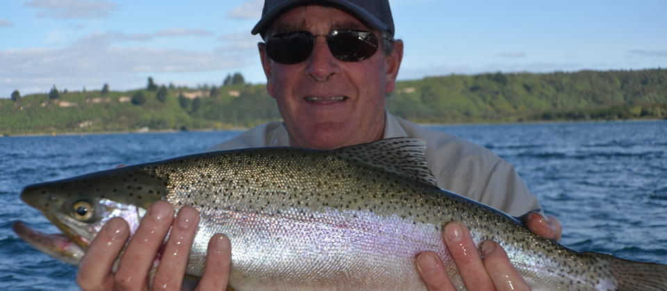 Nick with a good Taupo Brown Trout
