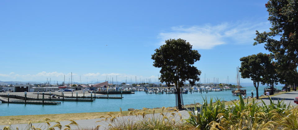 City & Showroom Tour in Napier, New Zealand