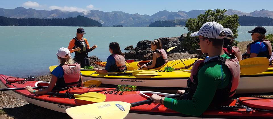 Sea Kayaking, Lyttelton - Adventure by Nature