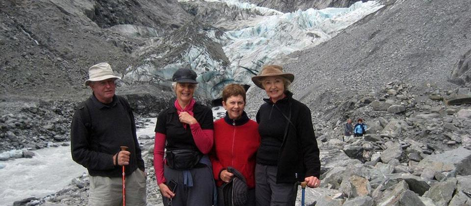 The Franz Josef Trail