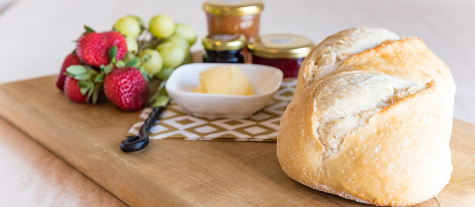 Freshly baked bread delivered to your door