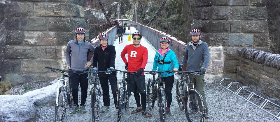 Kawarau Bungy Bridge - Winter Supported Bike Tour