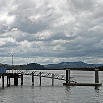 Kohukohu Wharf, Northland, New Zealand, October 2007
