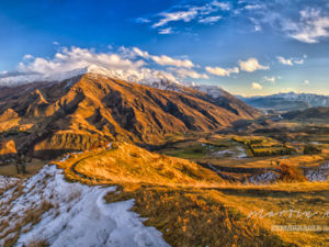This vantage point on the Crown Range Road between Queenstown and Wanaka, offers the kind of amazing views we feature.