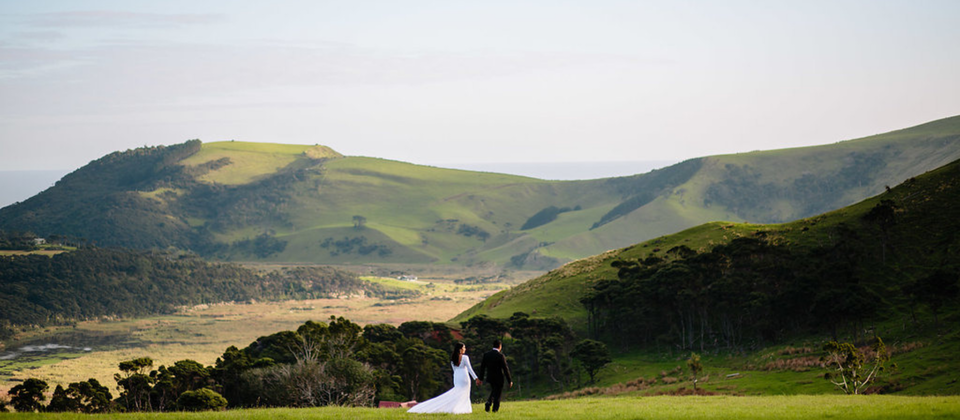 We are based in Auckland, New Zealand & we help design, plan & style unique wedding experiences throughout the North & South Islands of New Zealand.