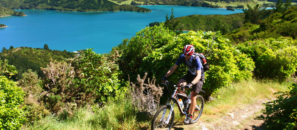 Spectacular South Island Mountain Biking with Pacific Cycle Tours