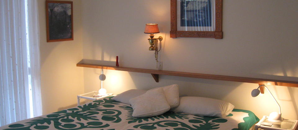 Aimeo Private room (Huahine) with ensuite and bathroom