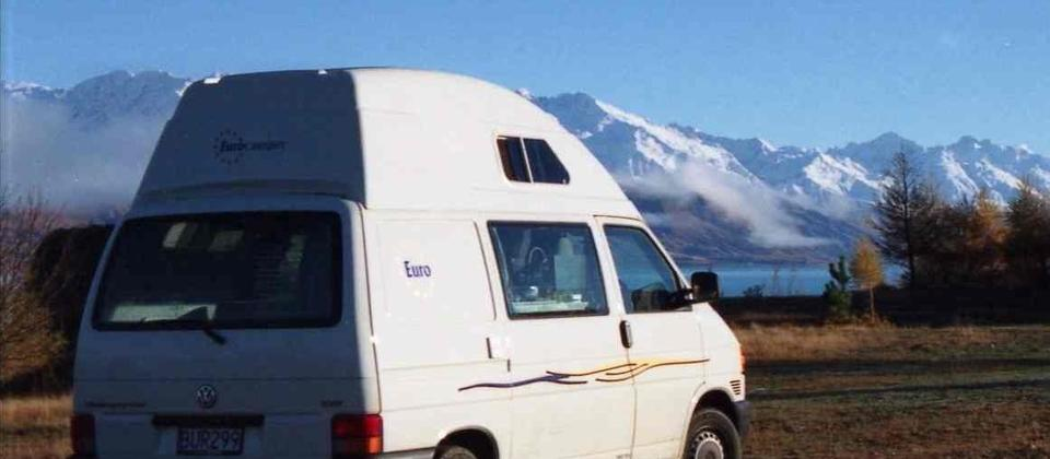 VW T4 Mount Cook NZ