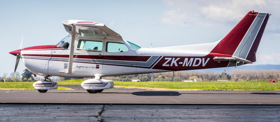 Our Cessna 172N used to give you the best views with its high wing design.