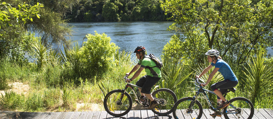 Waikato River Trails, Putaruru,