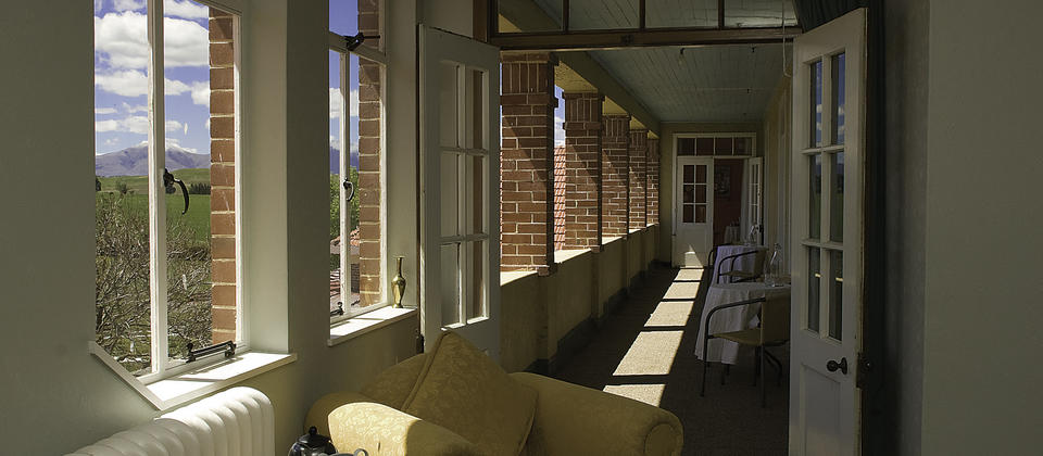 Plains Retreat Balcony
