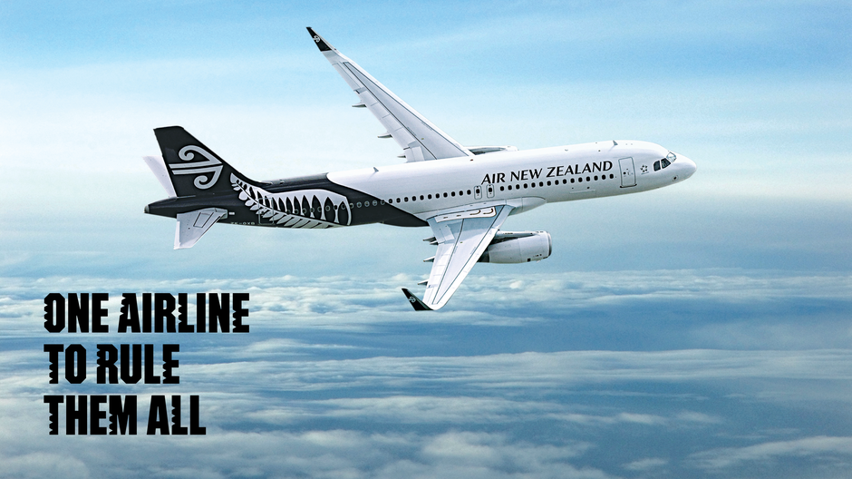 Fly with Air New Zealand