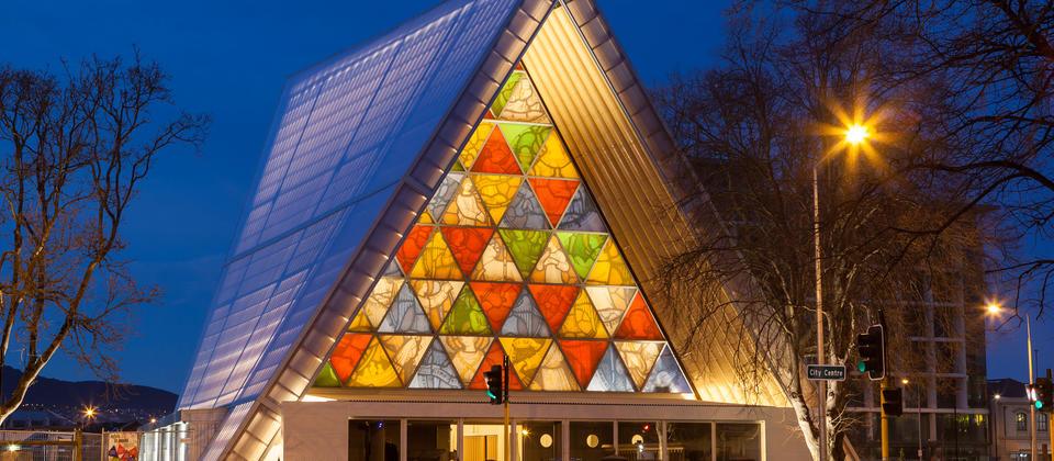 "Christchurch's Transitional ""Cardboard"" Cathedral"